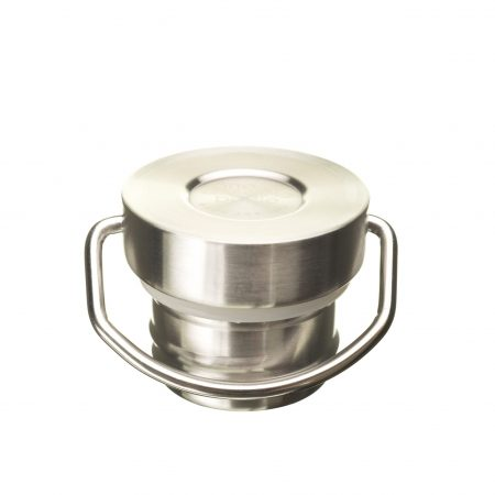 stainless steel cap