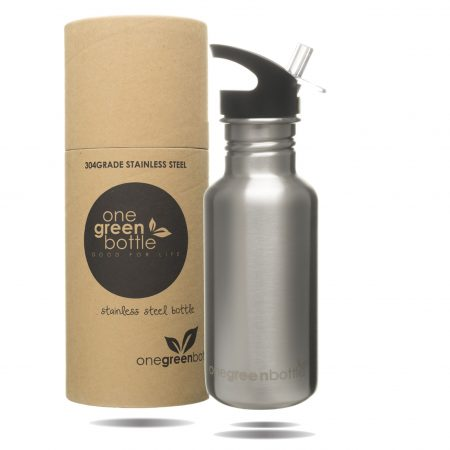 stainless steel water bottle gold