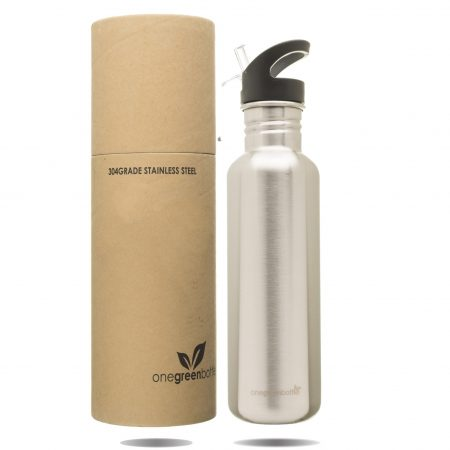 stainless steel personalised bottle onegreenbottle