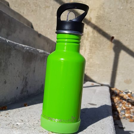 reusable metal bottle