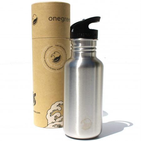 NEW stainless steel bottle tough canteen onegreenbottle