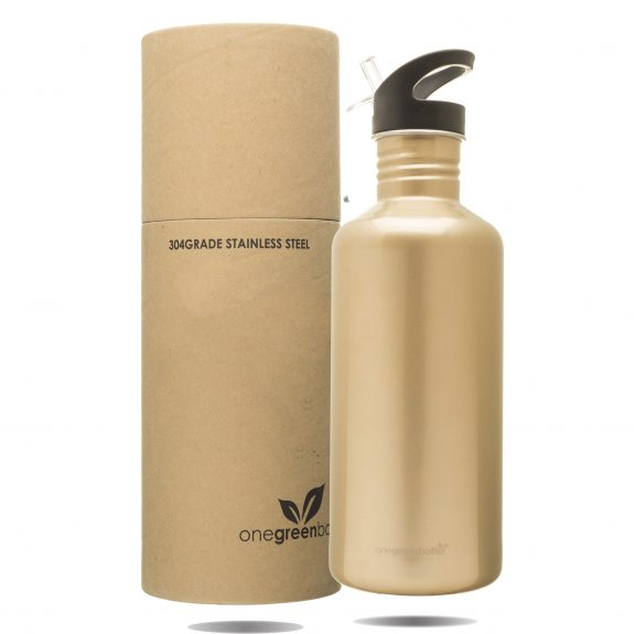 stainless steel large bottle plastic free