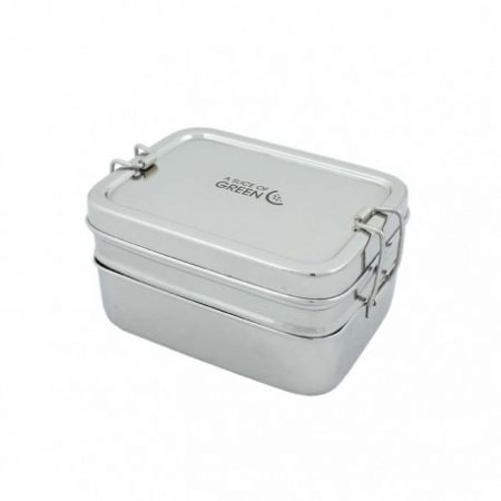 2 tier stainless steel lunchbox