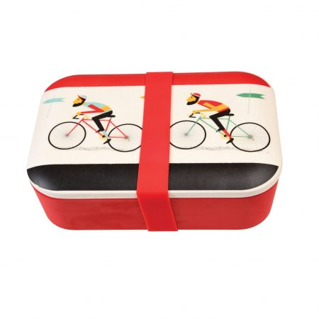 bicycle bamboo bento lunch box