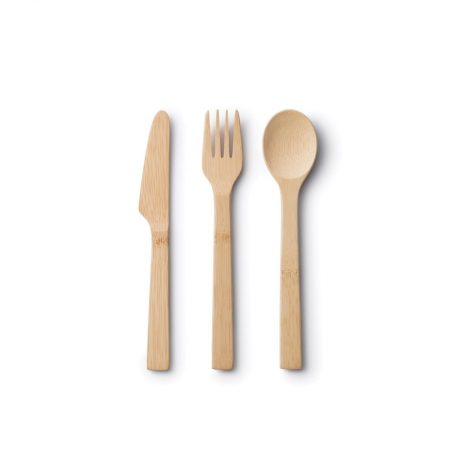Reusable knife and fork and spoon set travel