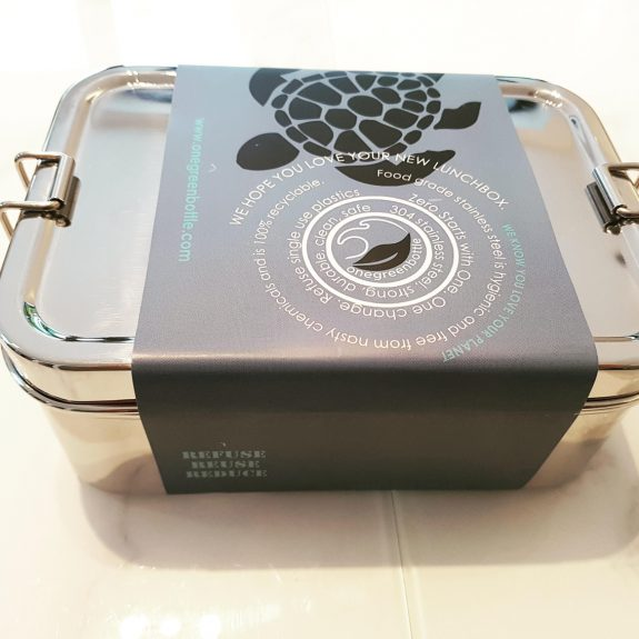 large stainless steel lunchbox uk