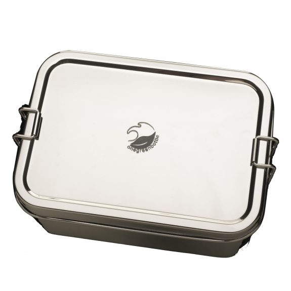 stainless steel lunchbox onegreenbottle
