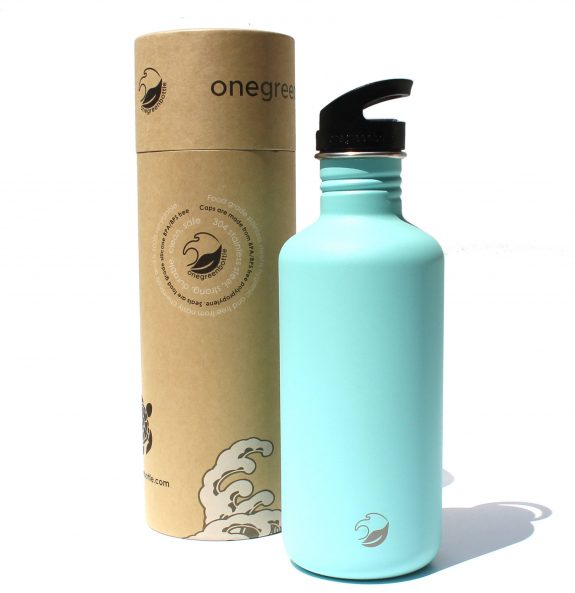 2018 1200ml powder blue stainless steel bottle