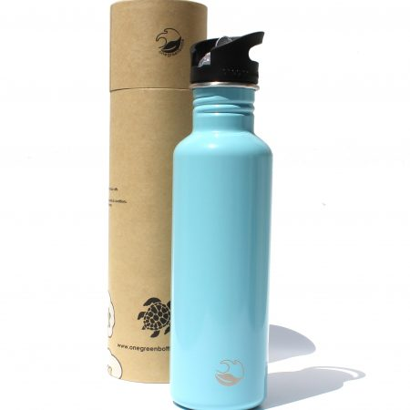 ice blue stainless steel bottle tough canteen onegreenbottle
