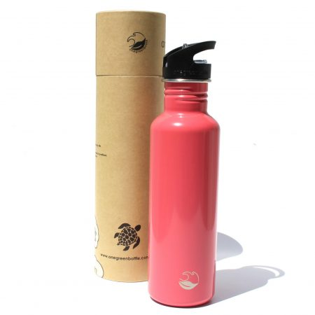 warm pink stainless steel bottle tough canteen onegreenbottle
