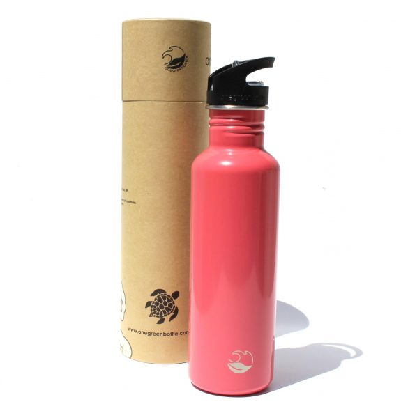 2018 800ml Warm pink tough stainless steel bottle