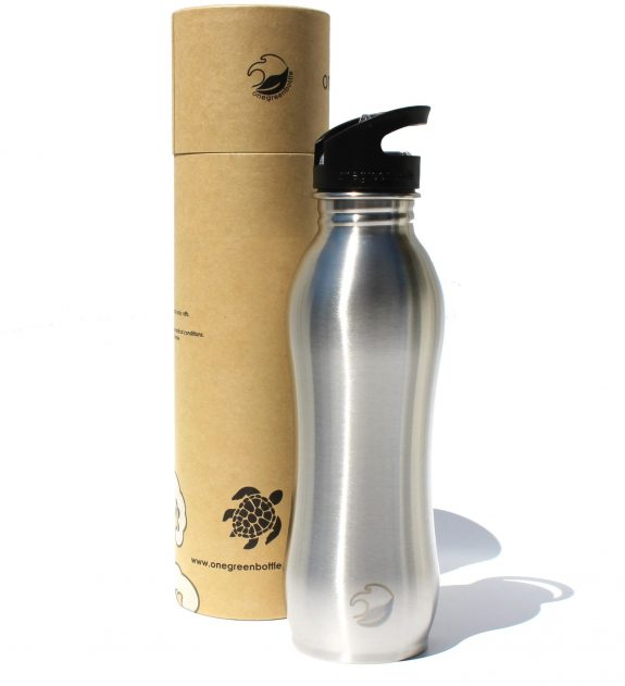 2018 800ml curvy stainless steel bottle