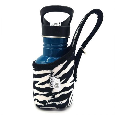 zebra jacket stainless steel bottle carrier onegreenbottle
