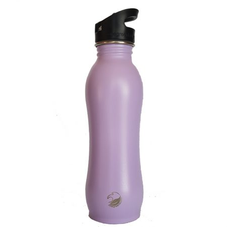 stainless steel curvy bottle