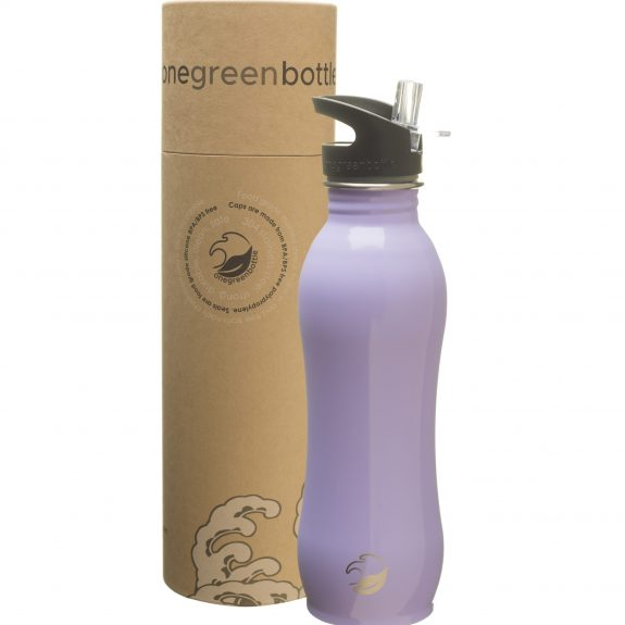 ea lavender stainless steel bottle tough canteen onegreenbottle