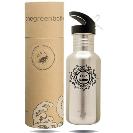 personalised stainless steel bottle