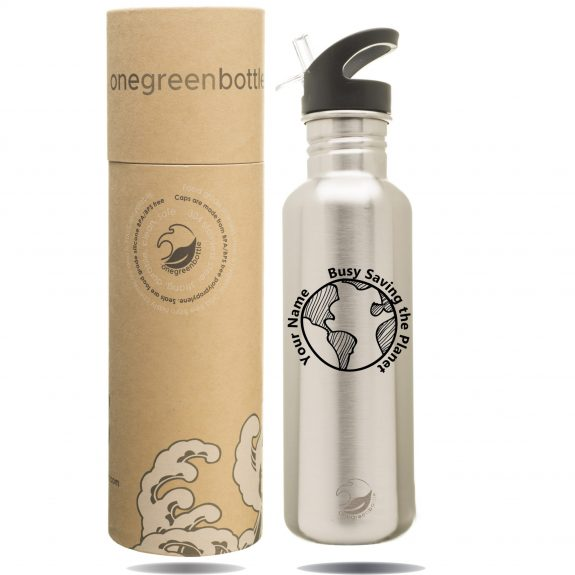 personalised stainless steel non plastic bottle