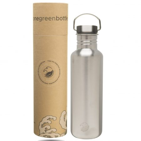 stainless steel bottle tough canteen steel cap