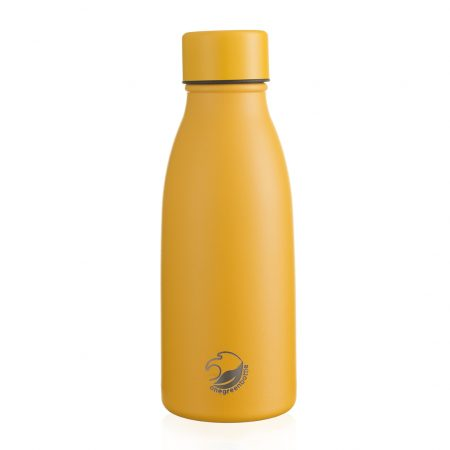 350ml yellow thermal insulated stainless steel bottle