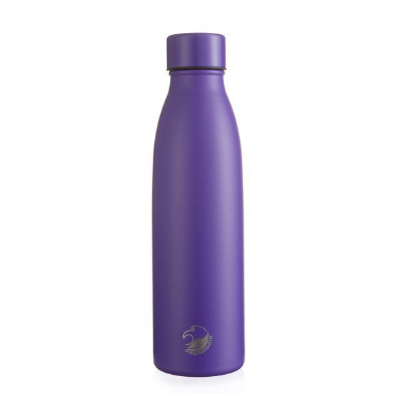500ml purple thermal insulated stainless steel bottle