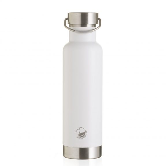 white vacuum thermal stainless steel bottle