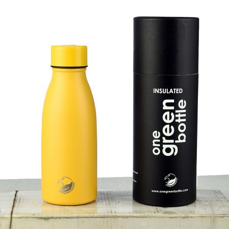 mustard libertine water bottle
