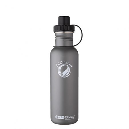 800ml stainless steel bottle grey