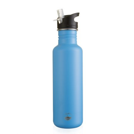800ml chelsea blue stainless steel bottle