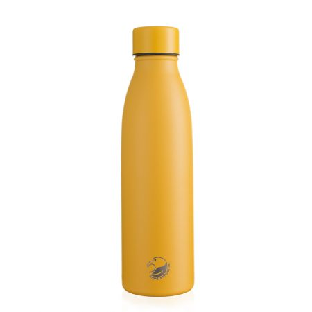 500ml yellow thermal insulated stainless steel bottle