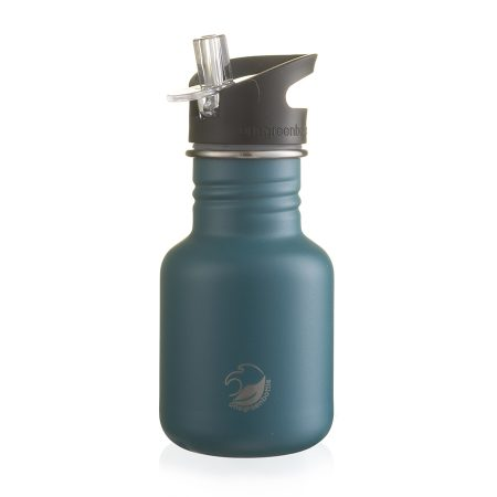 petrol blue scratch resistant stainless steel bottle