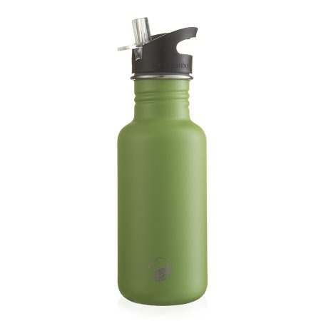 Kale green scratch resist stainless steel bottle