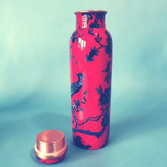 Copper ayurvedic bottle