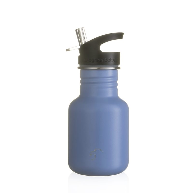 blue stainless steel bottle