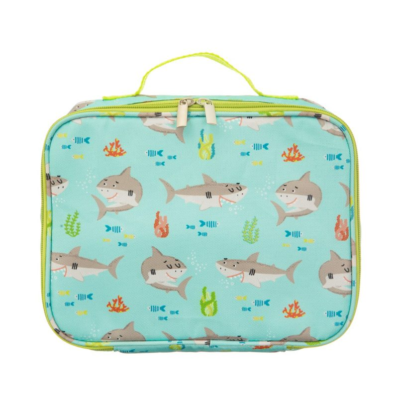 Shelby the shark insulated lunch bag