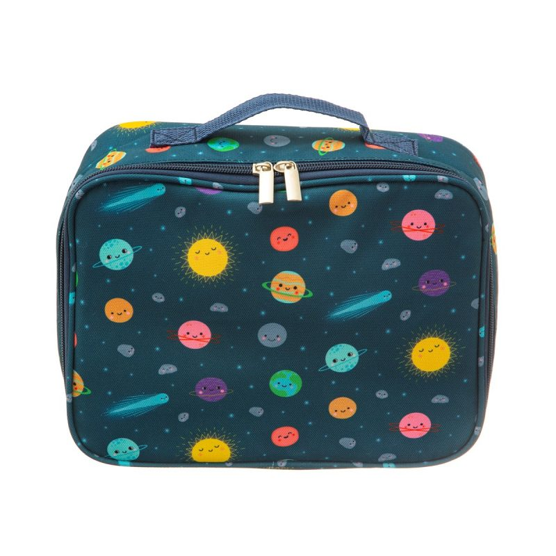 space explorer insulated lunch bag