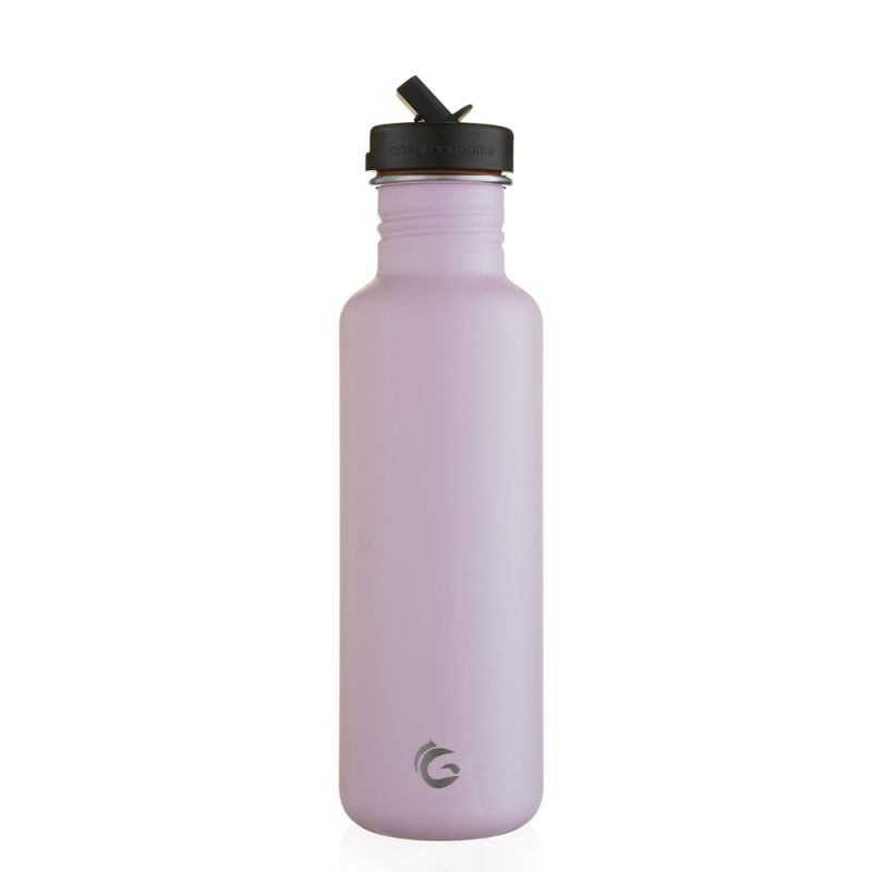 800ml Pink stainless steel eco bottle