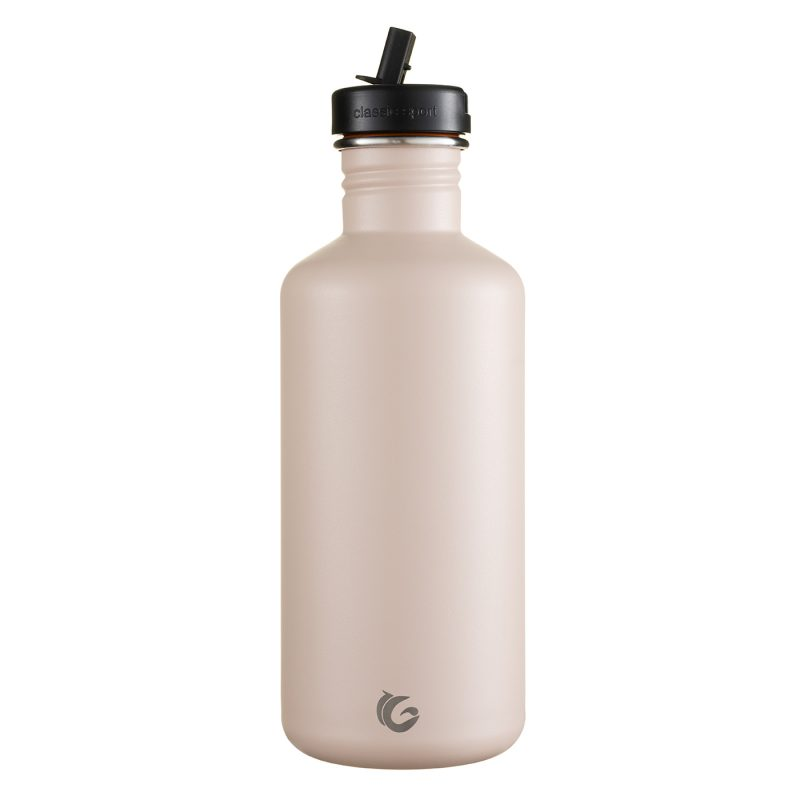 1200ml plaster pink stainless steel bottle onegreenbottle