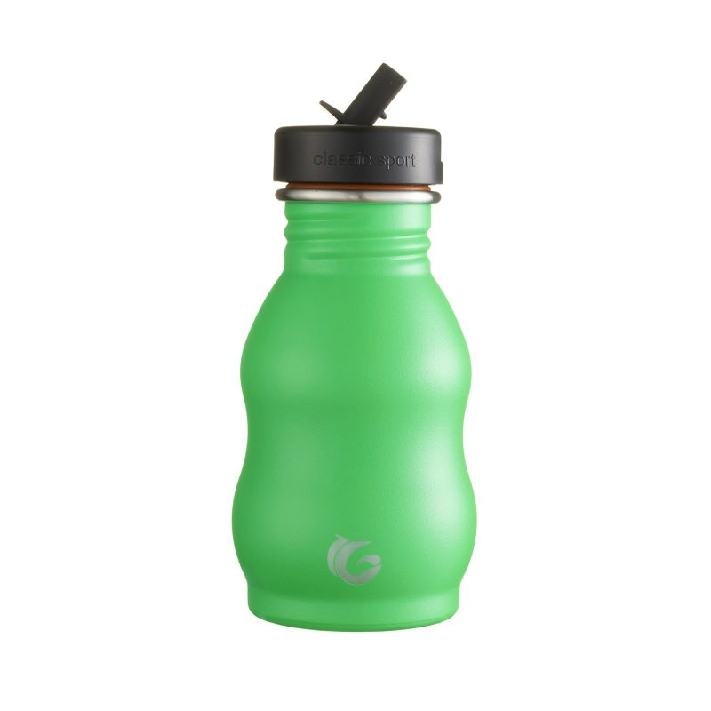 350ml Pickle green classic curvy canteen onegreenbottle