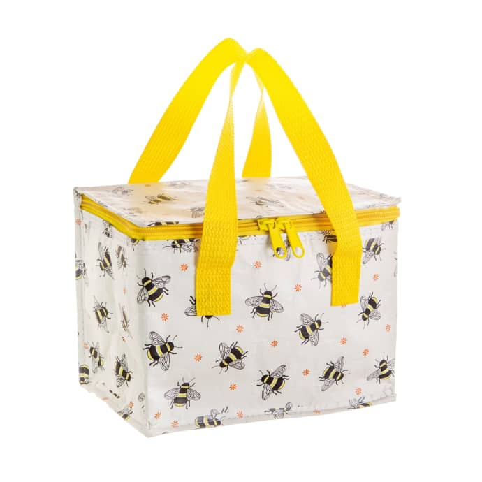 recycled plastic bumble bee lunch bag