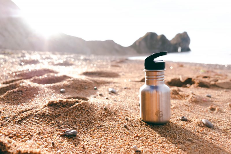 350ml stainless steel sustainable tough canteen quench cap