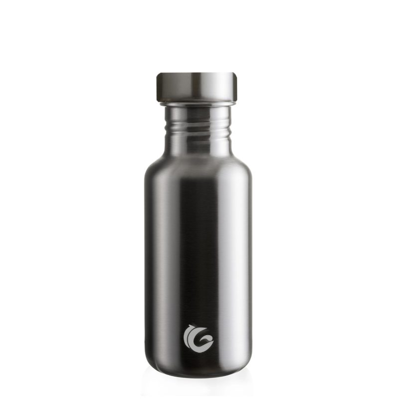 stainless steel tough reusable bottle