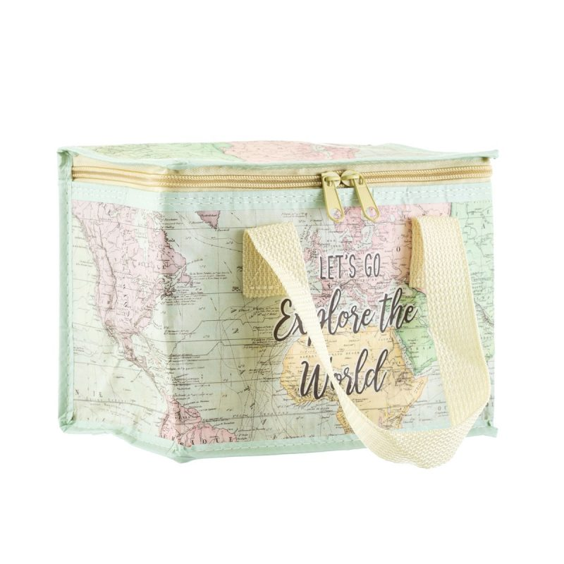 World Explorer lunch bag recycled plastic
