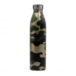 750ml hunter camo all steel cap sustainable bottle