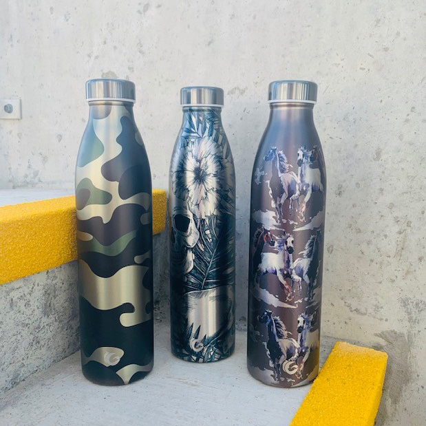 special editions 750ml stainless steal bottles