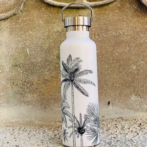 800ml palm springs stainless steel eco friendly bottle