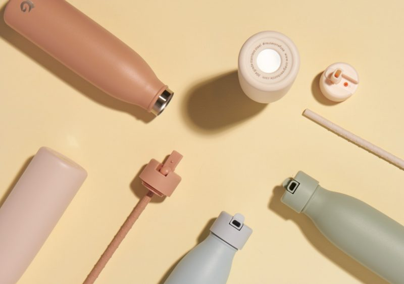 new neutrals life collection with lids and straws