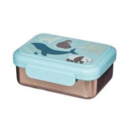 Endangered animal lunch box
