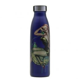 Pin up girl refillable bottle