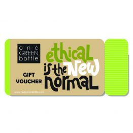 reusable bottle gift card