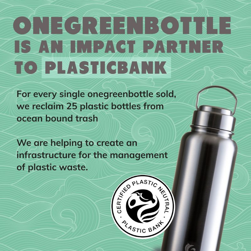 stainless steel insulated onegreenbottle